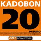 Golf Kadobon 20 Euro