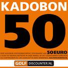 Golf Kadobon 50 Euro
