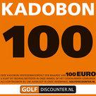 Golf Kadobon100 Euro