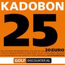 Golf Kadobon 25 Euro
