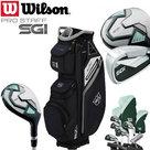 Wilson SGI Prostaff Dames Graphite Complete Deluxe 13-Delige Golfset 2019 & Cart Bag