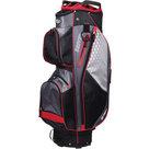 Skymax-Lichtgewicht-Cartbag-Golftas-Zwart-Rood