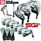 Wilson Prostaff SGI XL Uitgebreide Dames Complete Golfset