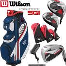 Wilson SGI Prostaff Deluxe Complete Golfset Heren Staal & EXO Cartbag NEW 2019