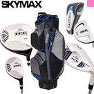 Skymax IX-5 Complete Golfset Dames Graphite met Cartbag Zwart/Blauw