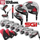 Wilson Prostaff SGI XL Complete Golfset Heren Staal