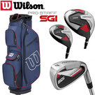 Wilson SGI Prostaff Deluxe Complete Golfset Heren Staal & Prostaff Cartbag