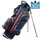 Spalding WP360 9 Inch Standbag Golftas, Navy/Oranje