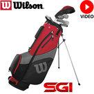 Wilson Prostaff SGI Halve Golfset Heren Graphite
