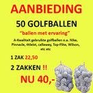 50-Lakeballs-A-Kwaliteit-Golfballen