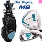 Ben Sayers M8 Complete Golfset Dames Graphite met Cartbag Zwart/Licht blauw