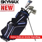 Skymax Ice IX-5 Halve Golfset Dames Graphite met Grote Skymax Standbag
