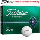 Titleist AVX golfballen 12 Stuks