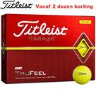 Titleist TruFeel Geel golfballen 12 Stuks