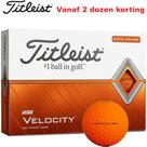 Titleist Velocity oranje golfballen 12 Stuks