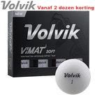 Volvik Vimat Soft Golfballen Wit 12 stuks