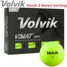 Volvik Vimat Soft Golfballen Lime 12 stuks