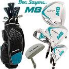 Ben Sayers M8 Complete Golfset Dames Graphite met Cartbag Zwart/Turquoise