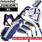 Future XL Junior Golfset Grijs 130-140cm