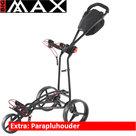 Big Max Autofold FF Golftrolley, Zwart