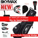 Skymax S1 XL Halve Golfset Heren Graphite met Standbag Zwart