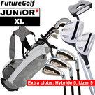 Future XL Junior Golfset Grijs 140-150cm