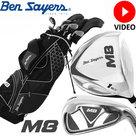 Ben Sayers M8 Complete Golfset Heren Staal Standbag Zwart