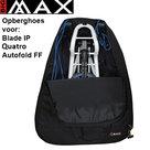 Big Max Autofold FF, Blad IP, Quatro golftrolley Transporthoes