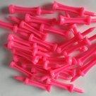 Pure4Golf Plastic Step Tees 53 mm roze