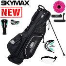 Skymax S1 XL Halve Golfset Dames Graphite met Standbag Zwart