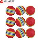 Pure2improve Practice Foam Golfballen Rood 9 Stuks