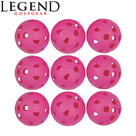 Legend Holle Plastic Golfballen Roze 9 Stuks