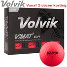 Volvik Vimat Soft Golfballen Roze 12 stuks