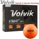 Volvik Vimat Soft Golfballen Oranje 12 stuks