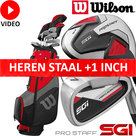 Wilson Prostaff SGI Complete Golfset Heren Staal op voorraad