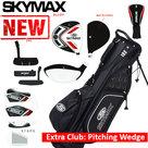 Skymax S1 XL Halve Golfset Heren Staal met Standbag Zwart