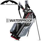 Sun Mountain USA H2NO Lite Waterproof 14-Vaks Standbag, zwart/grijs/rood