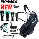 Skymax S1 Complete Golfset Dames Graphite met Standbag Zwart/Blauw