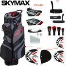 Skymax S1 Complete Golfset Heren Graphite met Cartbag