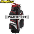 BagBoy Technowater DG Lite DRI TL Cartbag, zwart/rood
