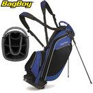 BagBoy SL Standbag, zwart/blauw