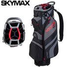 Skymax LW Cartbag Golftas, zwart/rood