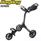 BagBoy Nitron Golftrolley, mat zwart