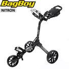 BagBoy Nitron Golftrolley, grafietgrijs