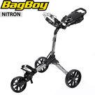 BagBoy Nitron Golftrolley, zilver