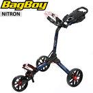 BagBoy Nitron Golftrolley, navy/rood