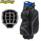 BagBoy DG Lite II TL Cartbag, zwart/grijs/blauw