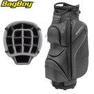 BagBoy DG Lite II TL Cartbag, grijs/zwart/witte stippen
