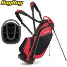 BagBoy SL Standbag, zwart/rood
