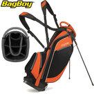 BagBoy SL Standbag, zwart/oranje